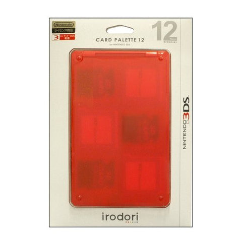 Image for Card Palette 12 3DS (red)