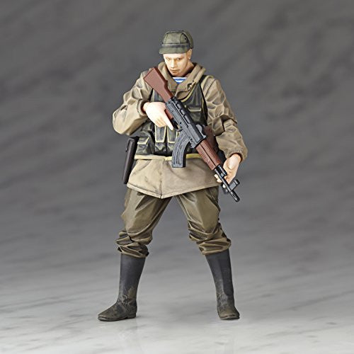 Image 2 for Metal Gear Solid V: The Phantom Pain - Soldier (Soviet Army) - Revolmini rmex-002 - Revoltech (Kaiyodo)