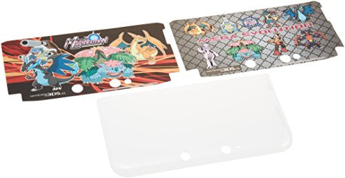 Image 1 for Dress-up Hard Cover for 3DS LL (Mega Evolution)