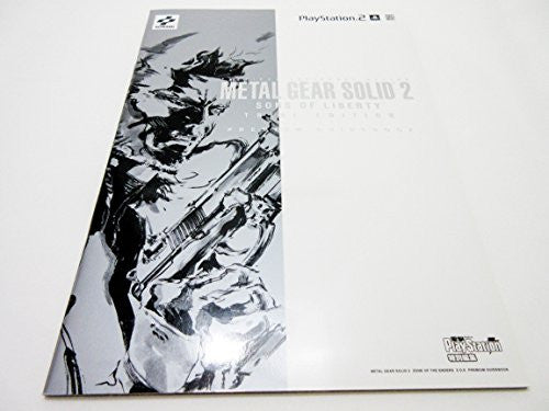 Image 1 for Metal Gear Solid 2 / Zone Of The Enders Premium Guide Book / Ps2