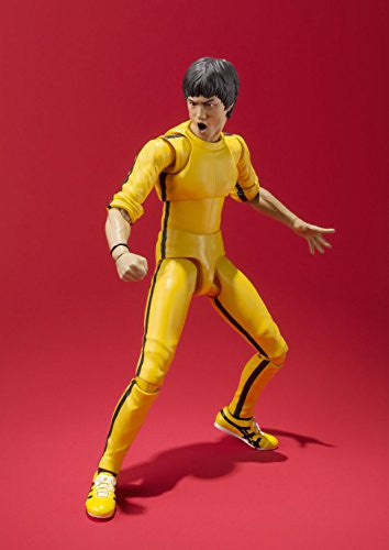 Image 6 for Game of Death - Bruce Lee - S.H.Figuarts - Yellow Track Suit (Bandai)