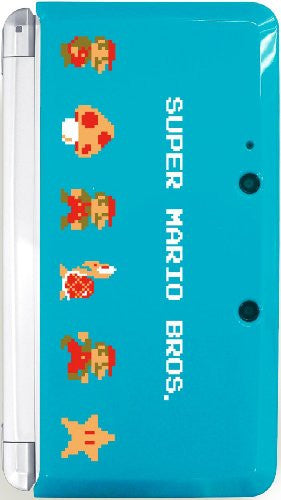Image 2 for Body Cover 3DS Type G (Super Mario Bros. Turquoise)