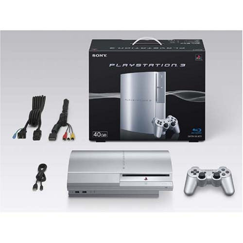 Image 3 for PlayStation3 Console (HDD 40GB Model) Satin Silver - 110V