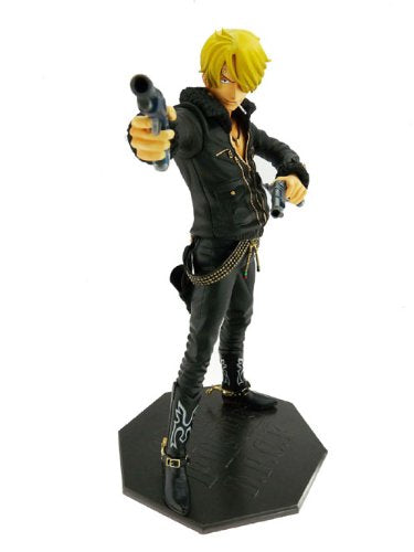 Image 1 for One Piece - Sanji - Door Painting Collection Figure - 1/7 - The Three Musketeers Ver. (Plex)