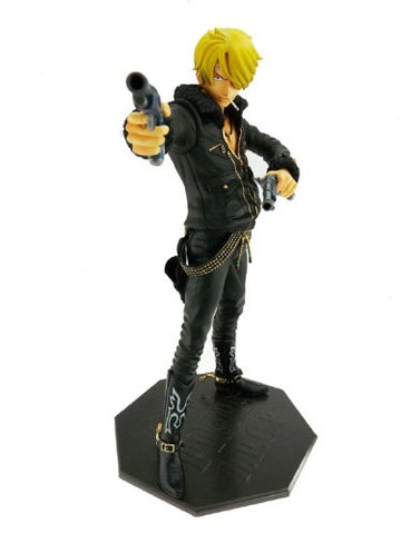 Image for One Piece - Sanji - Door Painting Collection Figure - 1/7 - The Three Musketeers Ver. (Plex)