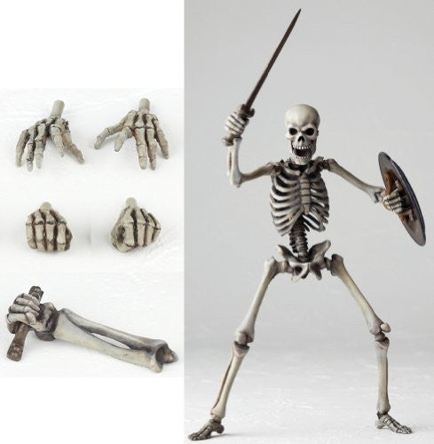 Image 6 for Jason and the Argonauts - Revoltech - Revoltech SFX 020 - Skeleton Army - 2nd Ver. (Kaiyodo)