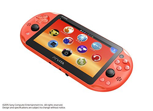 Image 6 for PSVita PlayStation Vita - Wi-Fi Model (Neon Orange) (PCH-2000ZA24)