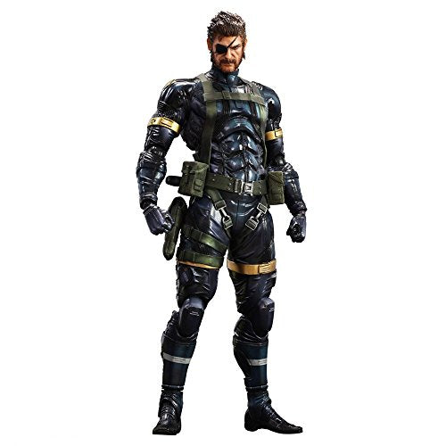 Image 1 for Metal Gear Solid V: Ground Zeroes - Naked Snake - Play Arts Kai (Square Enix)