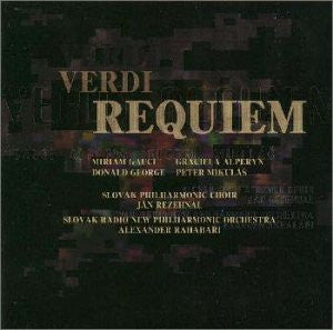 Image for REQUIEM / VERDI