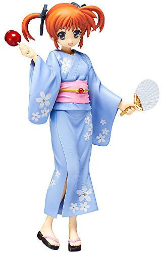 Image 1 for Mahou Shoujo Lyrical Nanoha The Movie 2nd A's - Takamachi Nanoha - 1/8 - Yukata ver. (FREEing)