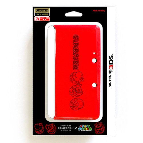 Image 1 for Body Cover 3DS Type A (Super Mario Red)