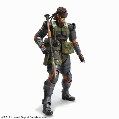 Image 2 for Metal Gear Solid Peace Walker - Naked Snake - Play Arts Kai - Battle Dress (Square Enix)