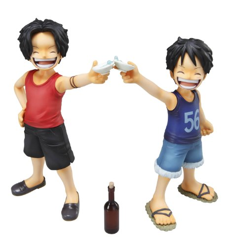Image 8 for One Piece - Monkey D. Luffy - Portrait Of Pirates MILD - Excellent Model - 1/8 - CB-EX Brothers Bond (MegaHouse)