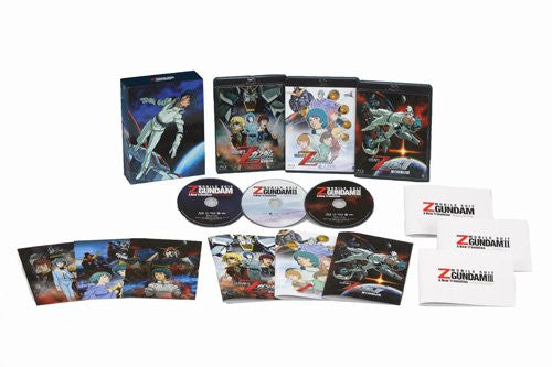 Image 3 for Mobile Suit Z Gundam Theatrical Edition Blu-ray Box [Limited Pressing]