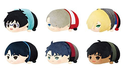 Image 1 for Yuri!!! on Ice - Mochi Mochi Mascot - Yuri!!! on Ice Mochi Mochi Mascot - Set of 6 random Mascots