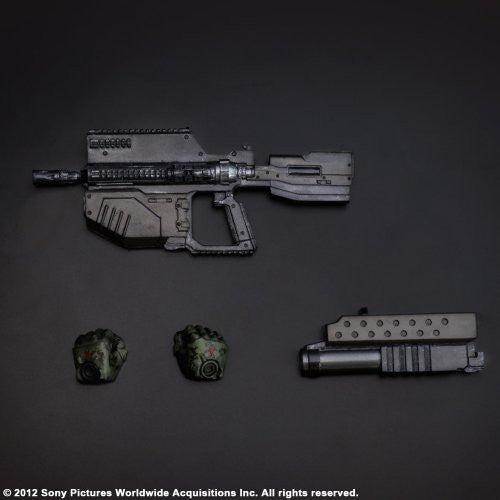 Image 7 for Starship Troopers: Invasion - Major Henry Varro - Play Arts Kai (Square Enix)
