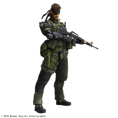 Image 1 for Metal Gear Solid Peace Walker - Naked Snake - Play Arts Kai - Jungle Fatigues (Square Enix)