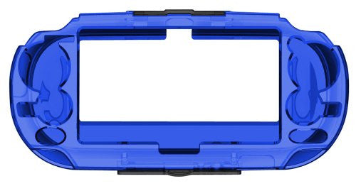 Image 4 for Protection Frame for PlayStation Vita (Clear Blue)