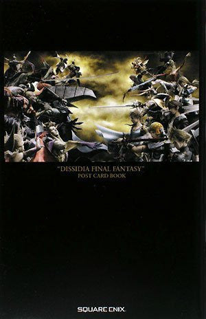 Image 1 for Dissidia: Final Fantasy Post Card Book