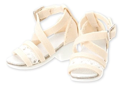 Doll Clothes - PureNeemo M Size Costume - Early Summer Sandals - 1/6 - Off White (Azone)