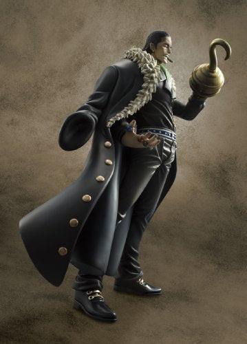 Image 3 for One Piece - Sir Crocodile - Excellent Model - Portrait Of Pirates EX - 1/8 - Repaint Ver. (MegaHouse)