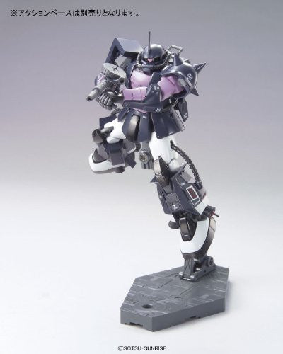 Image 5 for Kidou Senshi Gundam - MS-06R-1A Zaku II High Mobility Type - HGUC #151 - 1/144 - Black Tri-Stars Version (Bandai)