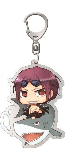 Image 1 for Free! - Matsuoka Rin - Deka Keyholder - Keyholder - Swimsuit ver., Chimi (Contents Seed)
