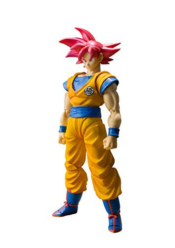 Image 1 for Dragon Ball Z: Kami to Kami - Son Goku SSJ God - S.H.Figuarts (Bandai)