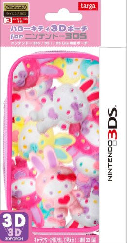 Colorful Bunny 3D Pouch