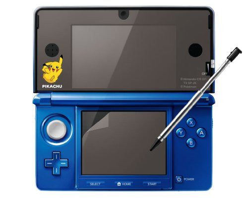 Image 2 for Protection Film for Nintendo 3DS [Pikachu Clear Version]