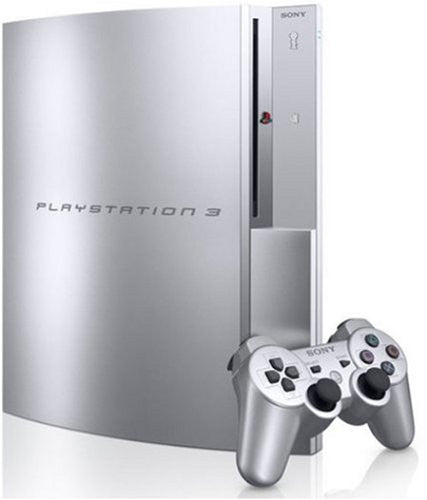 Image 1 for PlayStation3 Console (HDD 40GB Model) Satin Silver - 110V