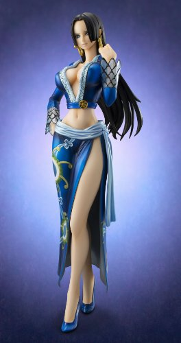 Image 7 for One Piece - Boa Hancock - Excellent Model - Portrait Of Pirates EX - 1/8 - Blue ver. (MegaHouse)