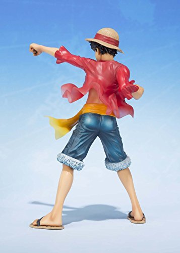 Image 3 for One Piece - Monkey D. Luffy - Figuarts ZERO - -5th Anniversary Edition-, The New World (Bandai)