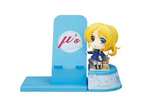 Image 1 for Love Live! School Idol Project - Ayase Eli - Cell Phone Stand - Choco Sta (Broccoli)