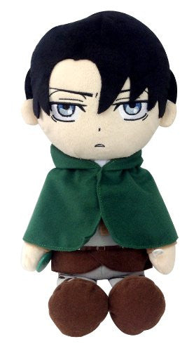 Image 1 for Shingeki no Kyojin - Levi - Kuttari Cushion - S (Bandai)