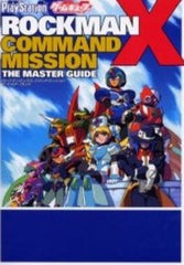 Mega Man Rockman X Command Mission The Master Guide Book / Ps2 / Gc