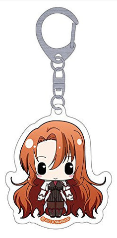Image for Seikoku no Dragonar - Rebecca Randall - Clear Keychain - Keyholder (Penguin Parade)