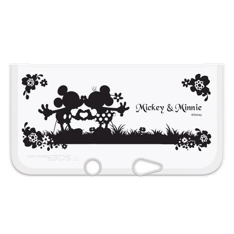 Image for Disney Character TPU Cover for 3DS LL (Mickey & Minnie Silhouette Version)