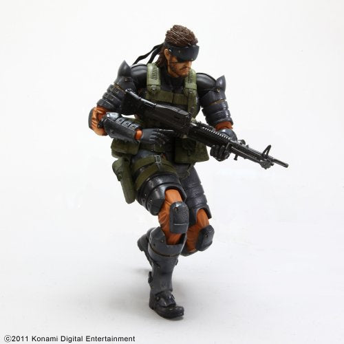 Image 3 for Metal Gear Solid Peace Walker - Naked Snake - Play Arts Kai - Battle Dress (Square Enix)