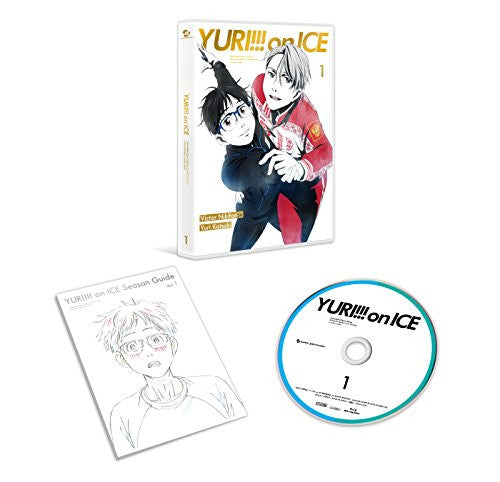 Image 3 for Yuri!!! on Ice - Vol. 1 - Limited Edition (Blu-ray)