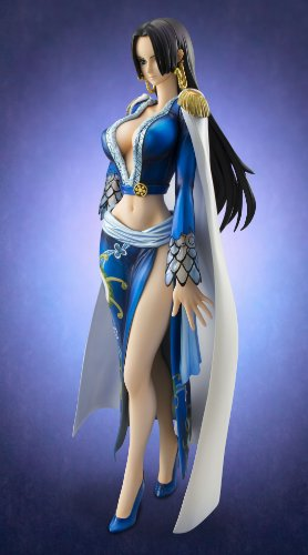 Image 10 for One Piece - Boa Hancock - Excellent Model - Portrait Of Pirates EX - 1/8 - Blue ver. (MegaHouse)