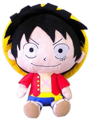 Image 1 for One Piece - Monkey D. Luffy - One Piece Reversible Cushion (Bandai)