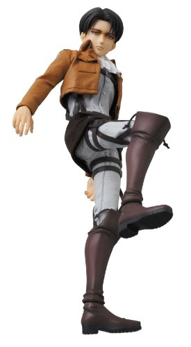 Image 6 for Shingeki no Kyojin - Levi - Real Action Heroes #662 - 1/6 (Medicom Toy)