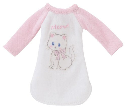 Doll Clothes - Picconeemo Costume - Animal Raglan Dress - 1/12 - Pink x White (Azone)