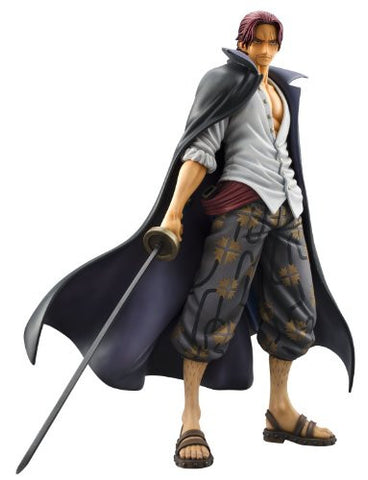 Image for One Piece - Red-Haired Shanks - Excellent Model - Portrait Of Pirates DX - 1/8 - Marineford ver. (MegaHouse)