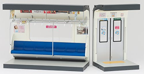 Image 10 for Parts Models Series 1/12 Interior Model Commuting Train  - (Blue Sheet) (Tomytec, Takara Tomy)