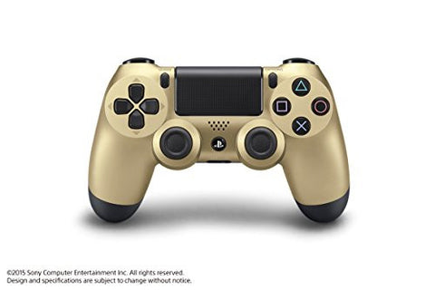 Image for Dual Shock 4 (Gold)