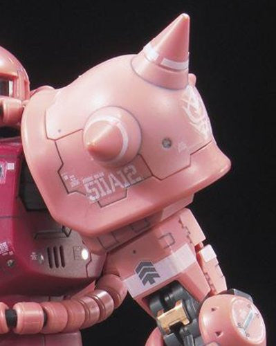 Image 7 for Kidou Senshi Gundam - MS-06S Zaku II Commander Type Char Aznable Custom - RG - 1/144 (Bandai)