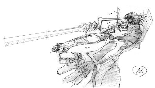 Image 3 for Groundwork Of Evangelion The Movie 1 Art Book Joukan