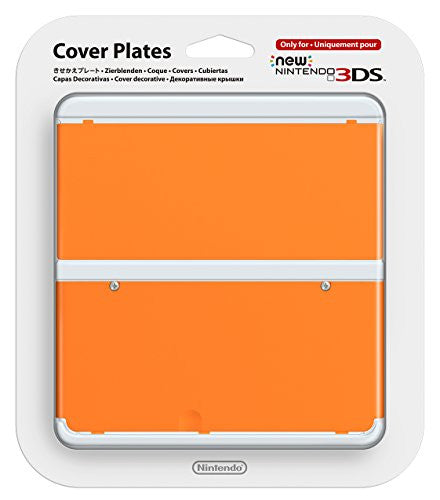 Image 1 for New Nintendo 3DS Cover Plates No.033 (Orange)